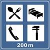 indicator rutier Complex de servicii